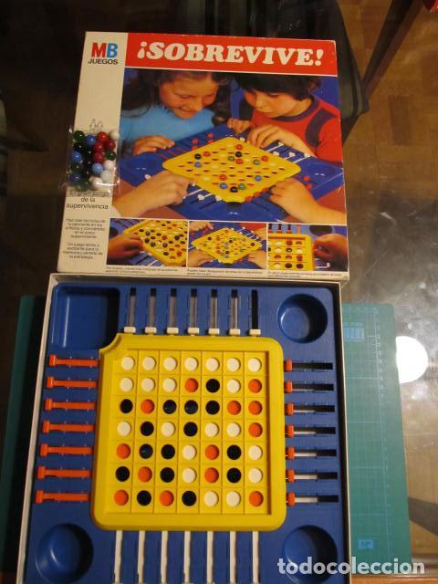 Juegos de mesa: JUEGO SOBREVIVE AÑOS 80 DE MB - Foto 2 - 85352384