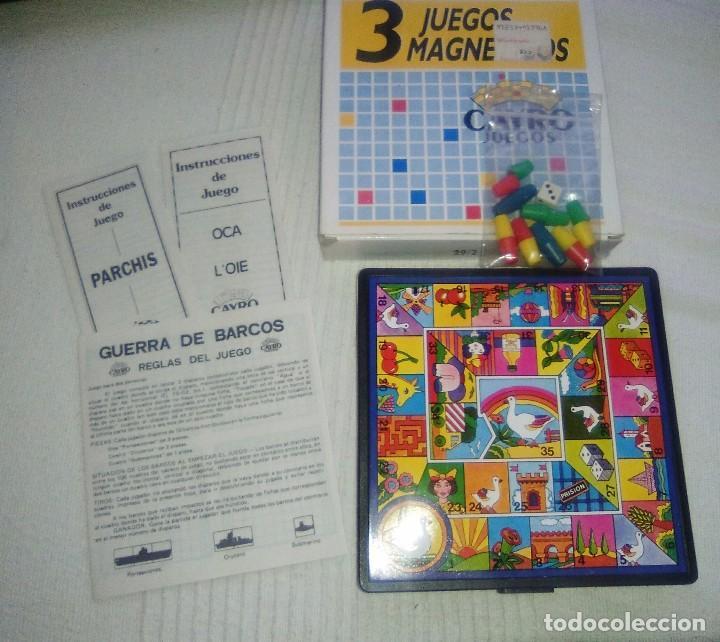 3 Juegos Magneticos Oca Parchis Y Barco Hundid Comprar Juegos De