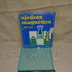 Juegos de mesa: JUEGO DE MESA MAGNÉTICO AJEDREZ - DE MARIGO - MADE IN SPAIN. Lote 85804388