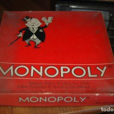 Juegos de mesa: MONOPOLY ANTIGUO REFERENCIA 6366 FALTA TABLERO ...VER FOTOS . Lote 85942812