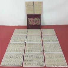 Juegos de mesa: JUEGO DE LOTERÍA. CARTÓN. FÁBRICA DE JUEGOS PARA LOTERÍA EL GALLO. ESPAÑA. PRINC. S. XX.. Lote 85748032