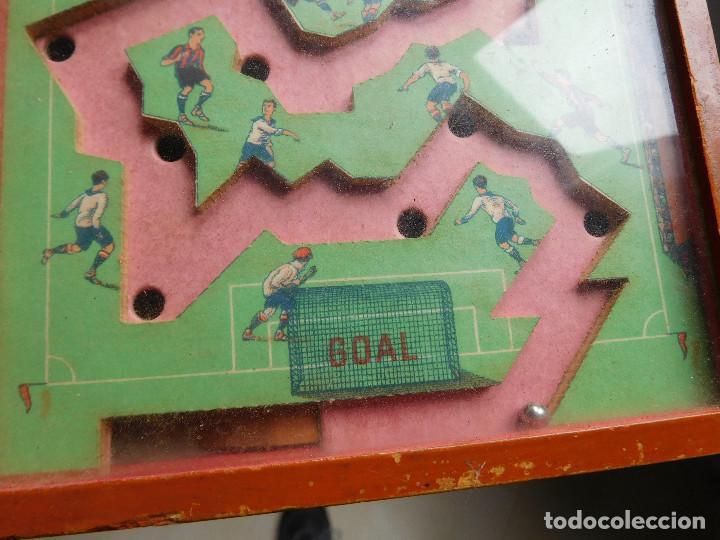 Juegos de mesa: Juego de habilidad foot ball fútbol años 40 - Foto 2 - 86229324