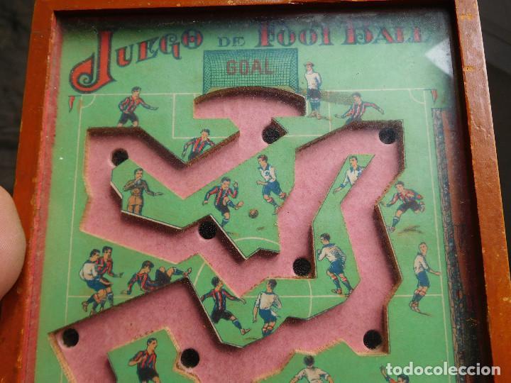 Juegos de mesa: Juego de habilidad foot ball fútbol años 40 - Foto 3 - 86229324
