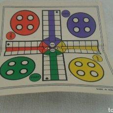 Juegos de mesa: TABLERO PLEGABLE PARCHÍS REVERSIBLE. Lote 86487626