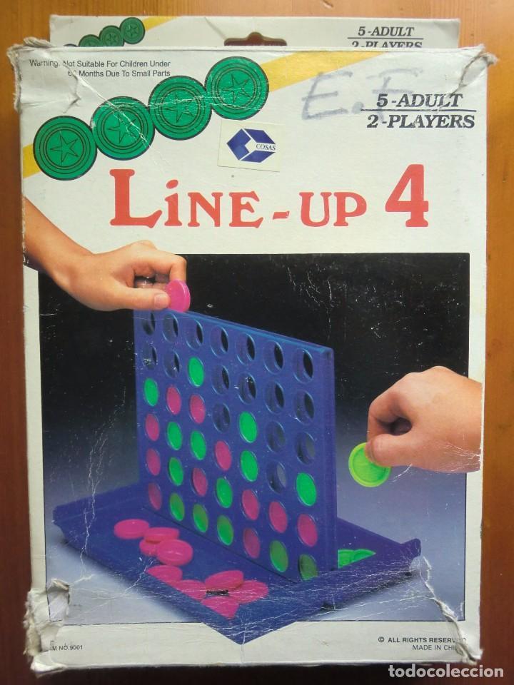 Juego De Mesa Line Up 4 Parecido Al Conecta 4 Comprar Juegos De