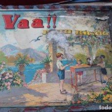 Juegos de mesa: ANTIGUO JUGUETE ELECTRICO VAA !!, AÑOS 30 EN CAJA Y CON INSTRUCCIONES.. Lote 86514900