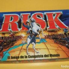 Jogos de mesa: JUEGO DE MESA RISK - EL JUEGO DE LA DOMINACIÓN GLOBAL - AÑO 2000 DE HASBRO COMPLETO. Lote 87167744