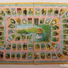 Juegos de mesa: ANTIGUO TABLERO EL JUEGO DE LA OCA EN CARTÓN DURO, 46X32 CM. Lote 146581485