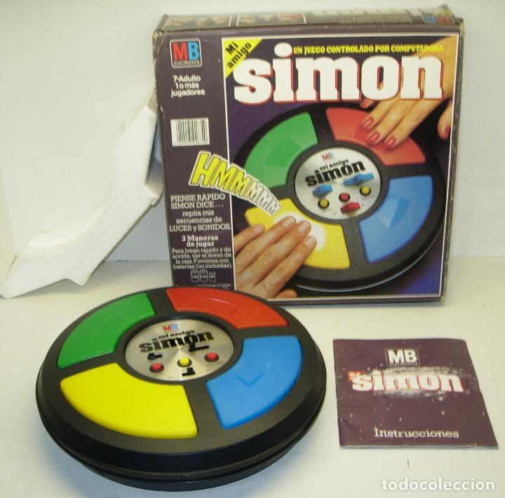 Juego Electronico Original Mi Amigo Simon De Mb Comprar Juegos De
