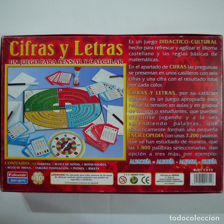 Juegos de mesa: CIFRAS Y LETRAS - FALOMIR - 1993 - Foto 2 - 87671044