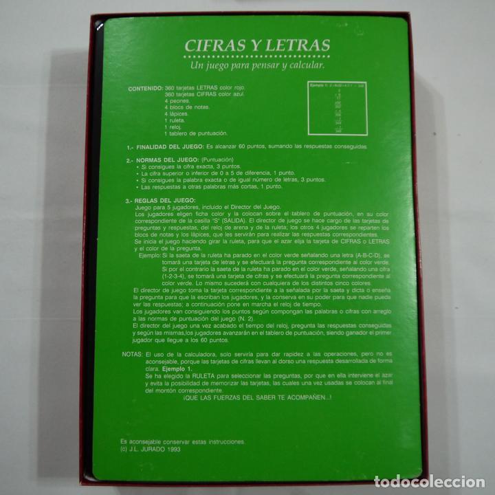 Juegos de mesa: CIFRAS Y LETRAS - FALOMIR - 1993 - Foto 3 - 87671044