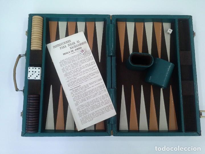 Maletin Juego Backgammon Comprar Juegos De Mesa Antiguos En