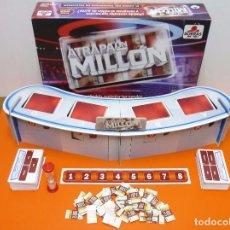 Juegos de mesa: ATRAPA UN MILLÓN -BORRAS - JUEGO DE MESA- . Lote 88357836