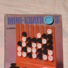 Juegos de mesa: JUEGO MINI 4 EN RAYA , GADEA GAMES ( MADE IN SPAIN ) AÑOS 70 . REF: 232.10 EN CAJA ORIGINAL. Lote 88371212