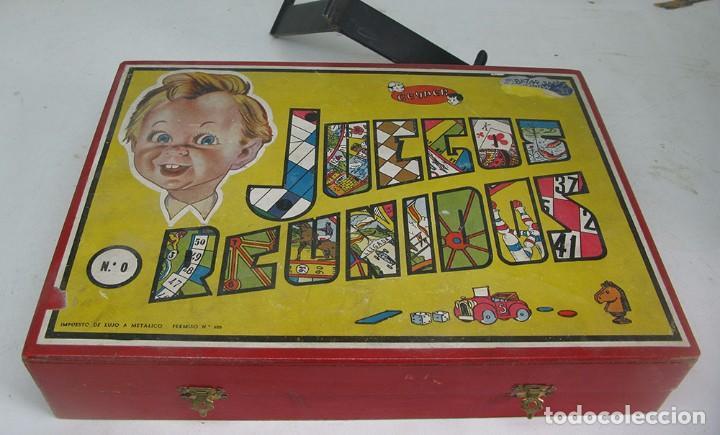 Juegos Reunidos Geyper Caja De Madera Comprar Juegos De Mesa