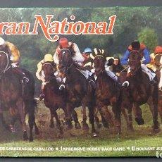 Juegos de mesa: GRAN NATIONAL JUEGO MESA CARRERAS CABALLOS PAPIROTS AÑOS 80 CASI COMPLETO. Lote 88987408