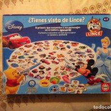 Juegos de mesa: BUSCA Y ENCUENTRA DISNEY - LINCE . Lote 89009496