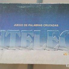 Juegos de mesa: INTELECT DE CEFA - JUEGO DE PALABRAS CRUZADAS. Lote 89237568