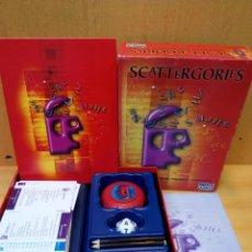 Juegos de mesa: SCATTERGORIES. Lote 89592452