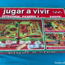 Juegos de mesa: JUEGO DE MESA JUGAR A VIVIR DE AYPE. COMPLETO. AÑOS 70. BUEN ESTADO.. Lote 89609888