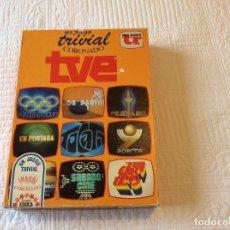Juegos de mesa: JUEGO EL TRIVIAL CORONADO TVE CON USO. Lote 89610228