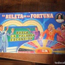 Juegos de mesa: LA RULETA DE LA FORTUNA DE ANTENA 3 - JUEGO MB COMPLETO -. Lote 89670492