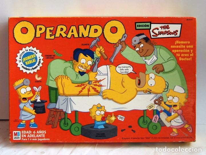 Operando The Simpsons Mb Operacion Version Suda Comprar Juegos De