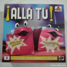 Juegos de mesa: ALLÁ TÚ - BORRAS - 2005. Lote 90203240