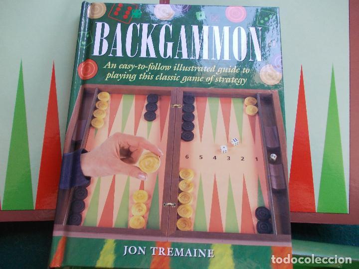 Backgammon Juego Con Libro En Ingles De Como Se Comprar Juegos De