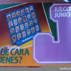 Juegos de mesa: JUEGO DE MESA DE CEFA QUE CARA TIENES JUEGOS JUNIOR . Lote 90375096
