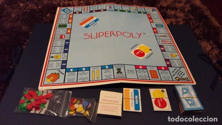 Juego Superpoly Monopoly Espanol Con Parchis Comprar Juegos De