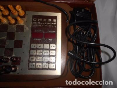 Juegos de mesa: AJEDREZ ELECTRÓNICO CHALLENGER 10, EN SU MALETÍN - Foto 2 - 90554150