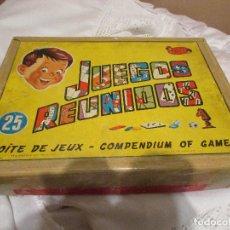 Juegos de mesa: JUEGOS REUNIDOS JEYPER. Lote 90577945