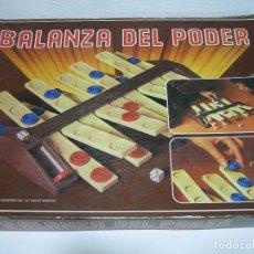 Juegos de mesa: JUEGO BALANZA DEL PODER DE BORRAS 1980. Lote 90650350