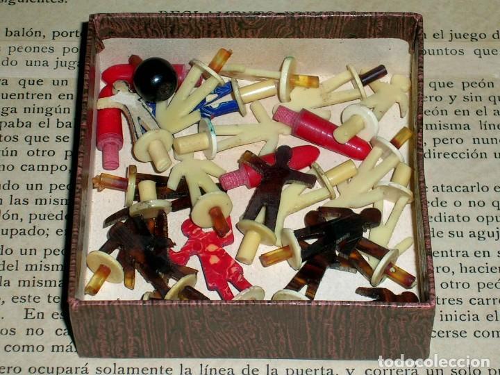 Juegos de mesa: Interesante juego de mesa Fútbol Salón, completo, jugadores, instrucciones, Barcelona año 1924. - Foto 11 - 90773130