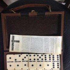 Juegos de mesa: JUEGO DOMINO CON ESTUCHE. Lote 90783300