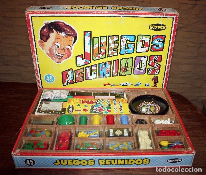 Antiguo Juegos Reunidos Geyper 45 Anos 70 M Comprar Juegos De