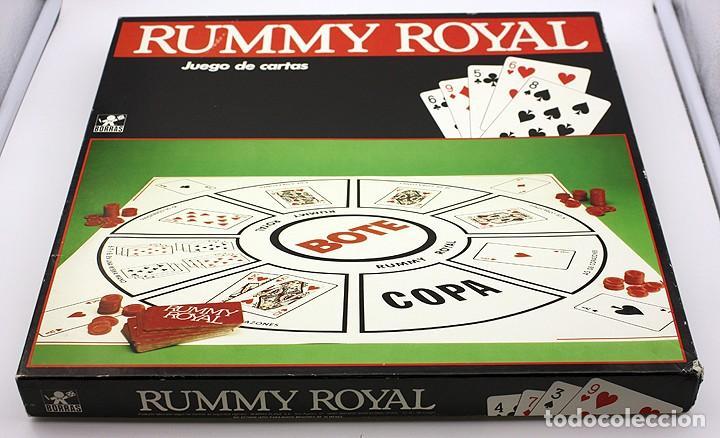 Rummy Royal De Borras Buen Estado De Conserva Comprar Juegos De