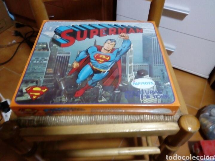 JUEGO SUPERMAN AVENTURAS EN NEW YORK PAPIROTS NUEVO PRECINTADO (Juguetes - Juegos - Juegos de Mesa)