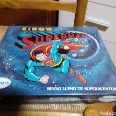 Juegos de mesa: BINGO SUPERMAN PAPIROTS NUEVO Y PRECINTADO. Lote 123012072