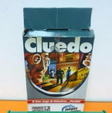 Juegos de mesa: CLUEDO PORTÀTIL- PARKER- JUEGO DE MESA. Lote 91435840