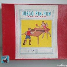 Juegos de mesa: JUGUETE DE PING PONG. TENIS DE MESA. JUEGO AÑOS 50-60. Lote 91615814