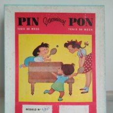 Juegos de mesa: PIN PON COROMINAS. FERREIRA S.A. JUEGO PING PONG. Lote 91632927