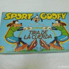 Juegos de mesa: JUEGO DIDACTA SPORT GOOFY TIRA DE LA CUERDA AÑOS 80. Lote 91765700