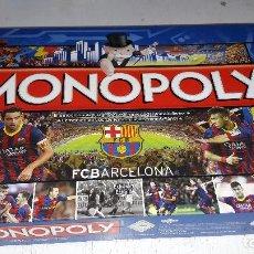 Jeux de table: MONOPOLY DEL F.C BARCELONA COMO NUEVO SOLO USADO 1 VEZ COMPLETO 2013. Lote 92228785