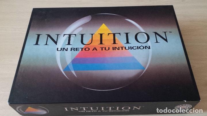 Juego De Mesa Intuition Un Reto A Tu Intuicion Comprar Juegos De