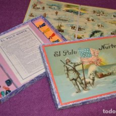 Juegos de mesa: ANTIGUO JUEGO DE MESA - EL POLO NORTE - BORRÁS - AÑOS 50 - ¡IMPOSIBLE DE ENCONTRAR EN ESTE ESTADO!. Lote 92749975