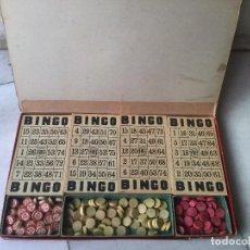 Juegos de mesa: BINGO ANTIGUO. AÑOS 50. Lote 92838895
