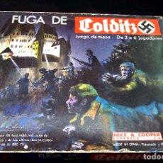 Juegos de mesa: JUEGO DE MESA, ESTRATEGIA, FUGA DE COLDITZ, DE NAC, BUEN ESTADO, CAJA AZUL. Lote 92878175