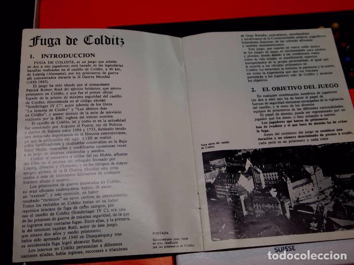 Juegos de mesa: JUEGO DE MESA, ESTRATEGIA, FUGA DE COLDITZ, DE NAC, BUEN ESTADO, CAJA AZUL - Foto 12 - 92878175
